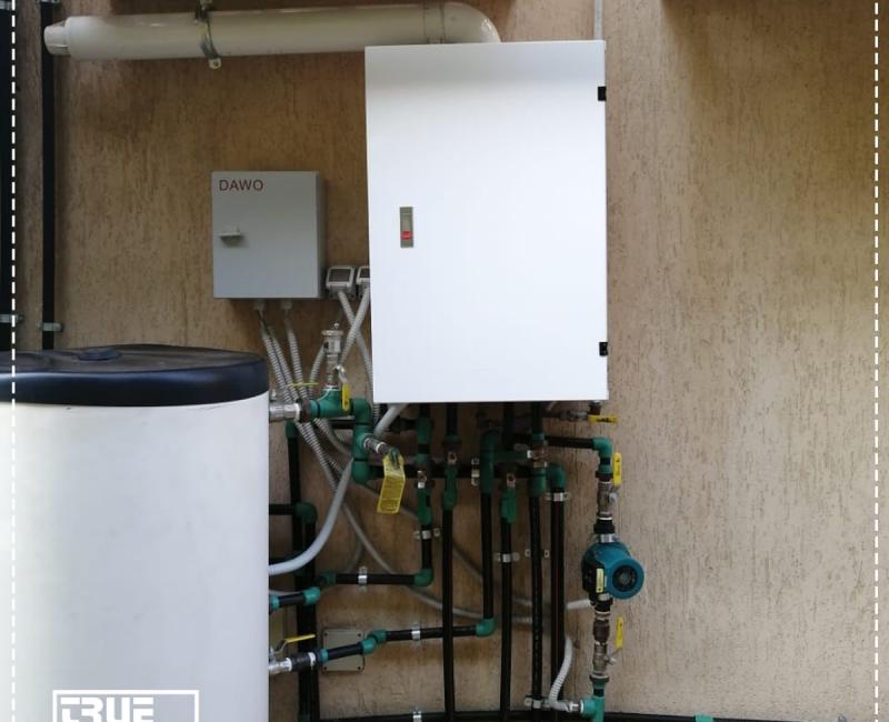 HVAC Boiler Cover